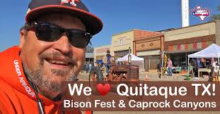 Quitaque tx bison fest and caprock canyons