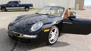 porsche convertible black 2006 porsche 911 carrera convertible 4s for sale auto navi black