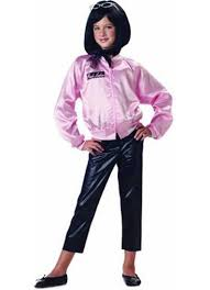 kids grease boy t bird boy pink lady jacket childrens fancy