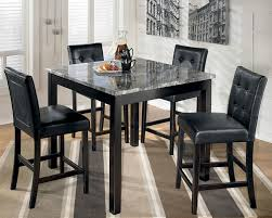 Awesome Black Dining Room Table Set Gallery Room Design Ideas - White and black dining table