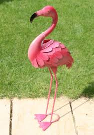 flamingo garden statue uk home outdoor decoration