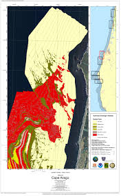 Oregon Earthquake Map by Oregon State Waters Mapping