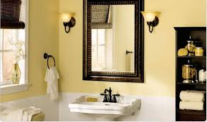 soft yellow paint color small bathroom choosing appropriate