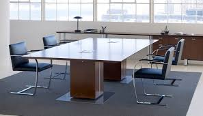 Modular Conference Table System Propeller Conference Table Knoll