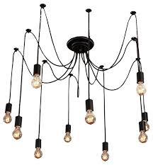 Modern Industrial Chandelier Artistic 10 Light Chandelier Industrial Chandeliers By