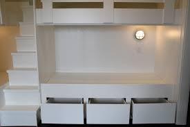 bunk bed with storage stairs designs u2014 modern storage twin bed