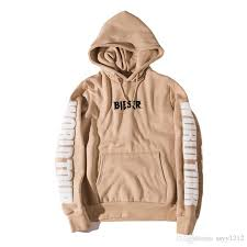 2018 purpose tour men hoodies sweatshirts light tan sport