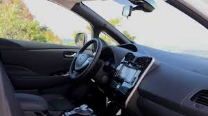 nissan leaf interior 2015 nissan leaf interior youtube