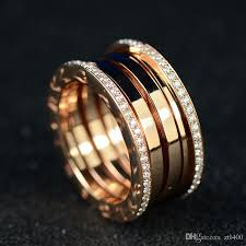 ceramic diamond rings images 2018 b ceramics ring italy b diamond rings double logo women man jpg