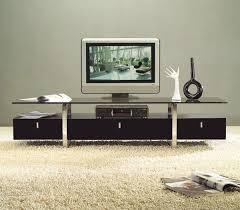 tv stand ideas diy black marble nesting table top chrome modern