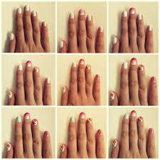 nail art easy nail art tutorial summer really tutorialseasy