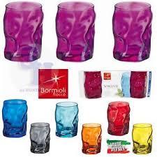 bicchieri colorati bormioli bicchiere bicchieri 3 pz bormioli 30 cl sorgente elegante acqua