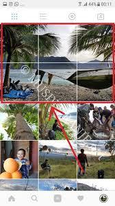 cara membuat instagram grid bingung bagaimana cara membuat foto menjadi beberapa bagian atau