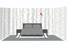 trees nature customer photos and alternate images birch tree forest wall mural
