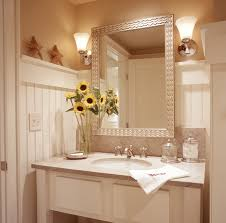 Bathroom Beadboard Ideas - the white beadboard that was used on the walls of this bathroom