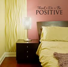 think do be positive health quotes affirmation wall decal stickers think do be positive inspirational wall decal quote room pic loading zoom