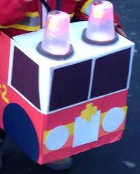 Diaper Halloween Costume Making Fire Truck Halloween Costume Diaper Box Sound