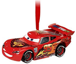 disney light up cars 2 lightning mcqueen ornament