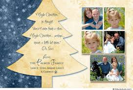 2017 artistic christmas tree card photos holiday golden