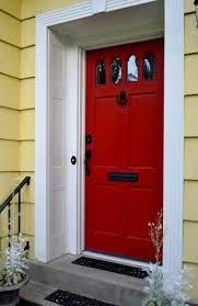 front doors good coloring front door red paint color 42 red