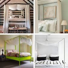 Modern Canopy Bed Bedroom Style 10 Ways To Dress Your Canopy Bed Apartment Therapy