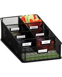 safco onyx mesh desk organizer get the deal safco onyx mesh condiment carton organizer
