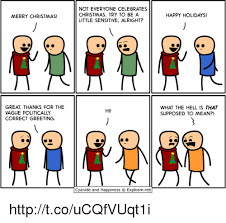 Politically Correct Meme - merry christmas great thanks for the vague politically correct