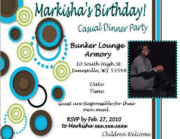 examples of birthday invitations for adults addnow info