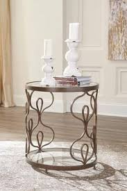 convenience concepts gold coast faux marble end table convenience concepts gold coast faux marble round end table gold