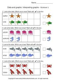 reading bar graphs worksheets