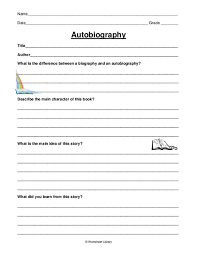 biography an autobiography difference free worksheets library download and print worksheets free on