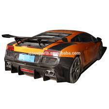lamborghini gallardo rear d style carbon fiber kit rear bumper fit for lamborghini
