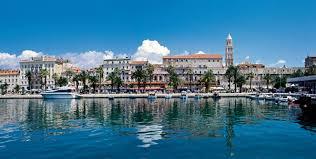 Split by The Town Of Split In Croatia