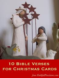 10 bible verses for christmas cards faithful provisions
