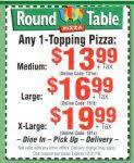 Round Table Pizza Coupons Codes Round Table Coupons 12 31 16 6 123x150 Jpg