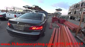 parting out 2006 bmw 750i stock 5233bl tls auto recycling