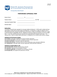 Performance Appraisal Report Sample Employee Review Form Free Download Blank Invoice Template Post