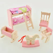 How To Make Dolls House Furniture Amazon Com Peradix Wooden Doll Livingroom House Furniture Room