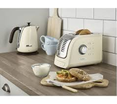 Kenwood Kettle And Toaster Buy Kenwood Turbo Tcm300cr 2 Slice Toaster Cream Free Delivery