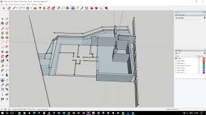 converting a 2d sketchup survey plan to a 3d sketchup model pro