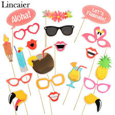 photo props lincaier 20 flamingo photo booth props tropical wedding