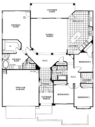 chic idea 4 bedroom single story house plans bedroom ideas