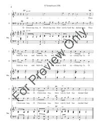 o tannenbaum tb by allen hill j w pepper sheet music