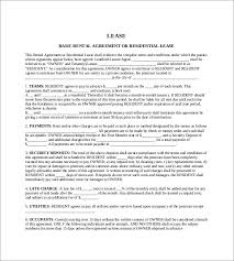 agreement template u2013 27 free word pdf documents download free