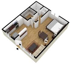 Two Bedroom Flat Floor Plan Apartment Nice One Bedroom Apartment