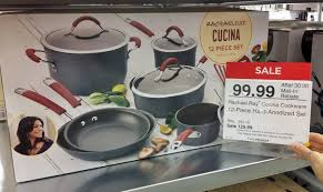 target rachel ray cookware black friday 60 99 rachael ray 14 pc cookware set at jcpenney today only