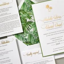 palm tree wedding invitations 57 best and destination wedding invitations images on
