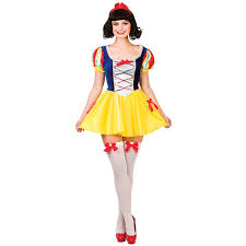 halloween costumes snow white adults dress up party halloween role play fairy tale snow white