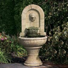 stone wall fountains wall fountains stone fountains garden