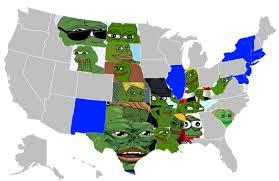 Blank Electoral Map by Hunter Schwarz On Twitter